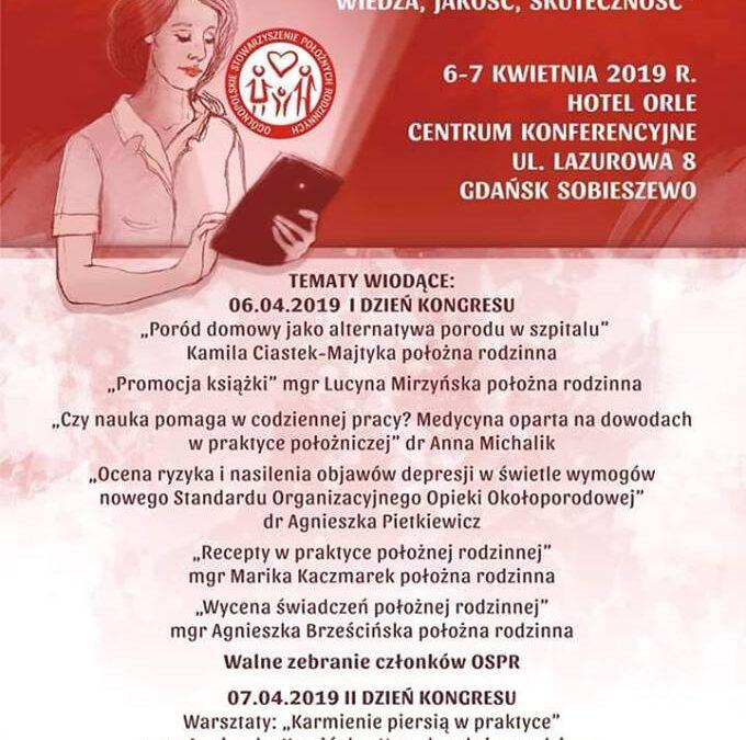 III Kongres Położnych Rodzinnych Gdańsk