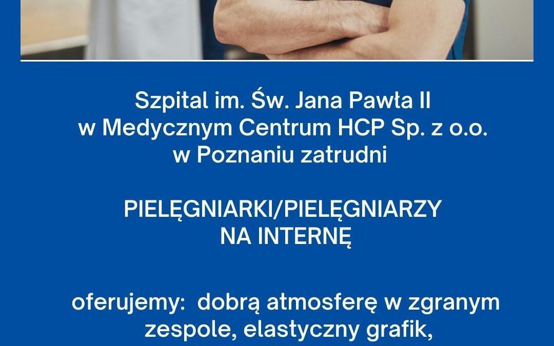 Prośba o dodanie naszej oferty pracy dla Pielęgniarek